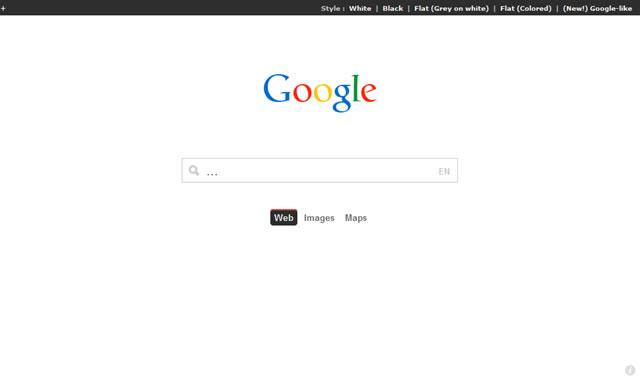 Google Redesign Redesign