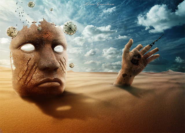 Adobe Photoshop Tutorials For Creating Bizarre And Surreal Artwork - Photographer combines photoshops his own photos to create surreal landscapes