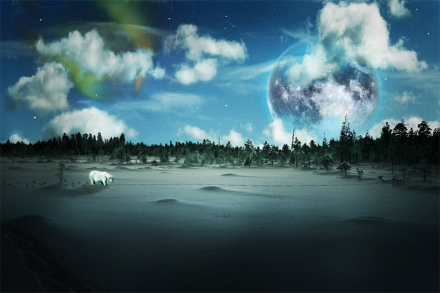 Create a Surreal Arctic Scene in Photoshop