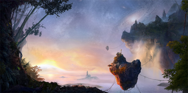 Create an Incredible Avatar Inspired Matte Painting of Pandora
