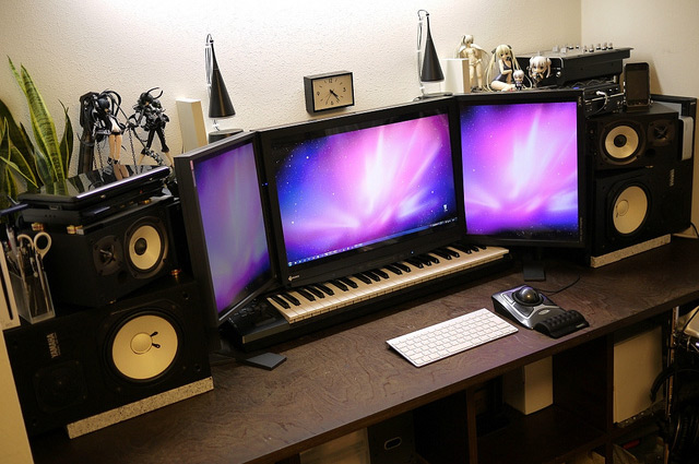 30 impressive home office workstation setups