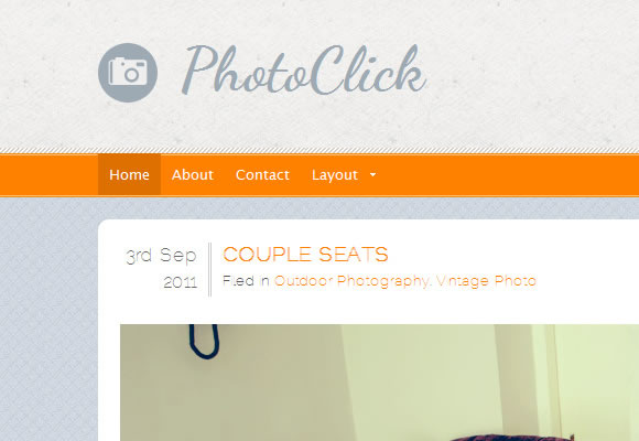 PhotoClick Theme - Freemium WordPress Themes