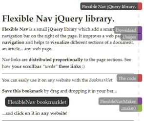 Flexible Nav Library