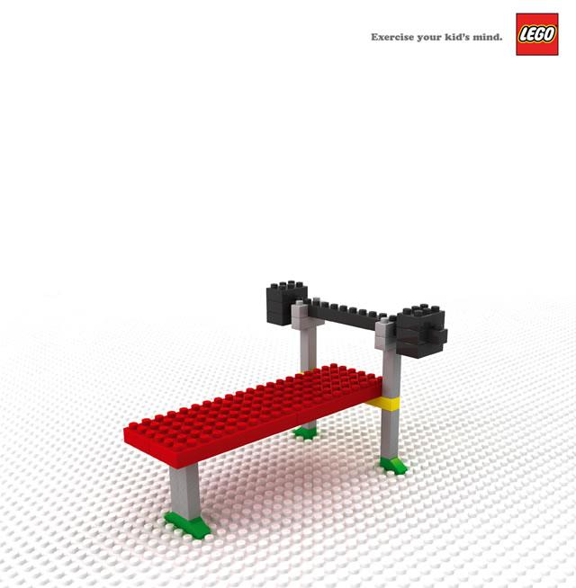 Lego Print Ads