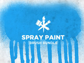 Spray Paint 6 Brushes