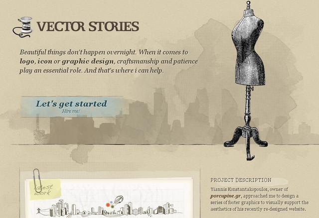 Vector Stories
