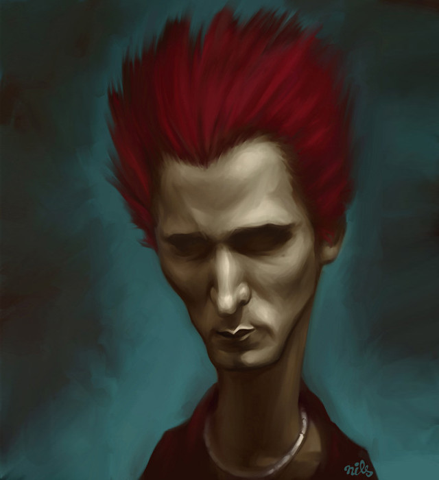 Matt Bellamy Celebrity Caricatures Funny