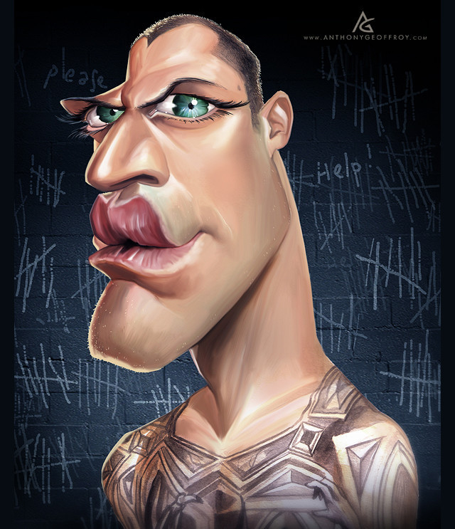 Michael Scofield Celebrity Caricatures Funny
