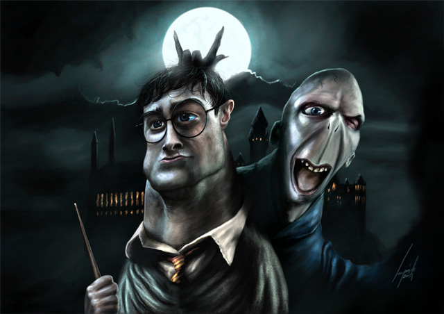 Harry Potter caricature Celebrity Caricatures Funny