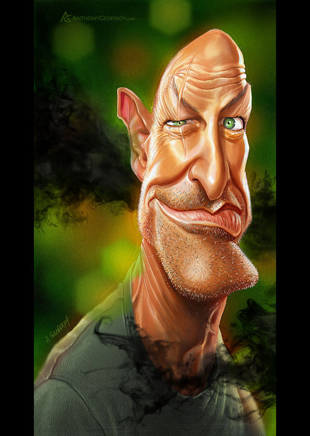 John Locke Celebrity Caricatures Funny