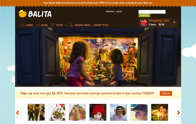 WordPress Theme: Balita