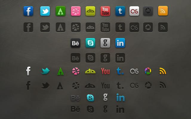 Socialis Free Icon Set