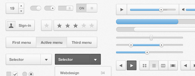 Cloudy UI Kit