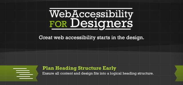 Web Accessibility for Designers