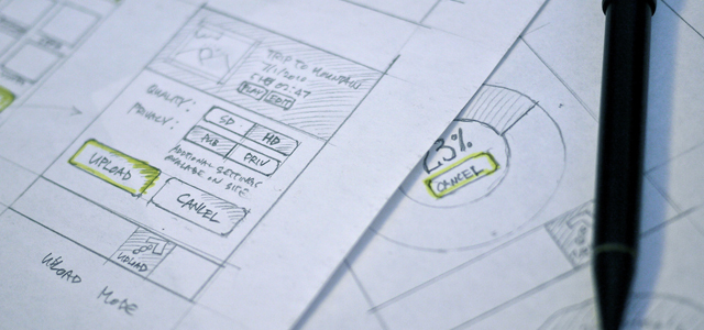 wireframe sketches for web ui
