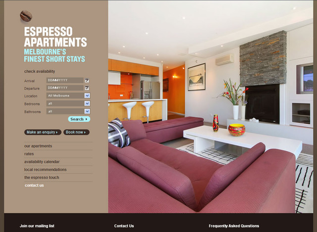 Espressoa Partments hero image slider