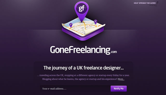 GoneFreelancing.com - The Journey of a UK Freelance Designer