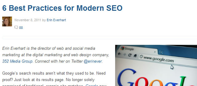 6 Best Practices for Modern SEO