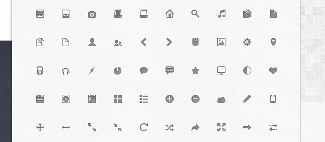 Mimi Glyphs - Scalable Free Icons