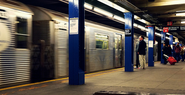 New York City subway train station - featured image