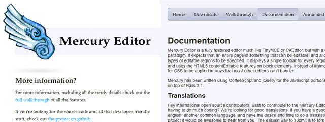 Mercury Editor