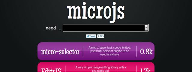 Microjs