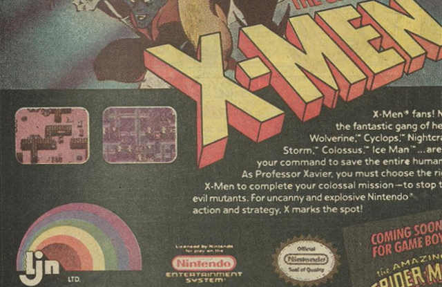 1990s older nostalgia - NES X-Men Game