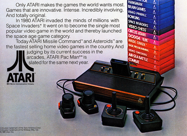 1990s era Atari gaming magazine