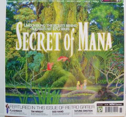 Secret of Mana Frontpage SNES