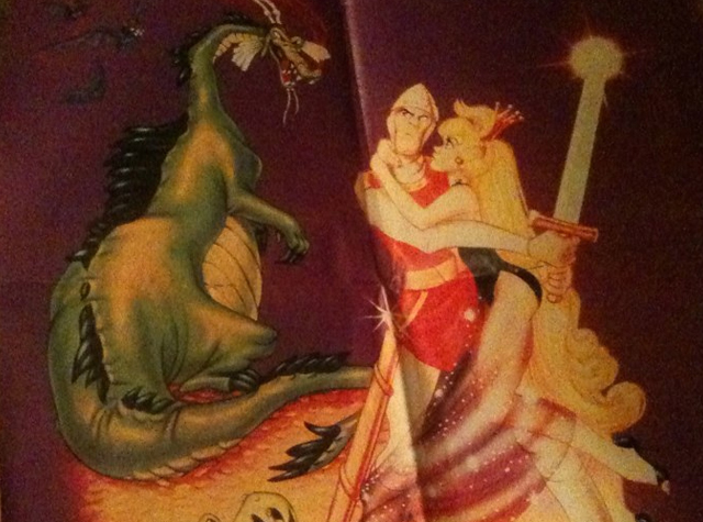 Dragon's Lair Poster Artwork