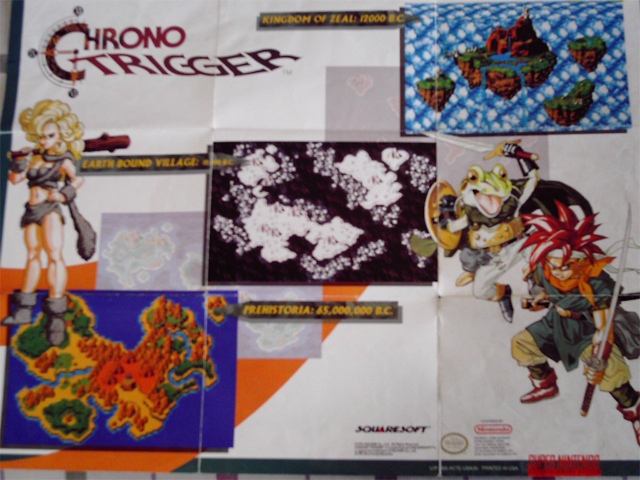 Super Nintendo Chrono Trigger - Poster Side1