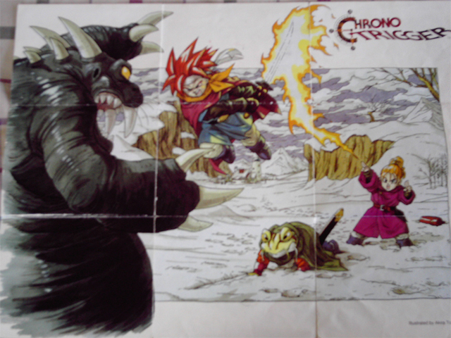 Super Nintendo Chrono Trigger - Poster Side2