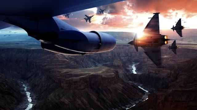 Adobe Photoshop Tutorial to create Cinematic Aerial Scene