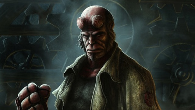 How to create Hellboy image in Adobe Photoshop