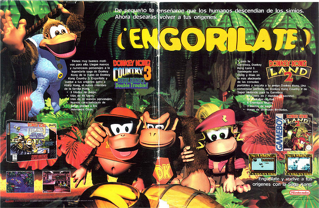 Magazine Spread for DKC3 and Donkey Kong Land GBC