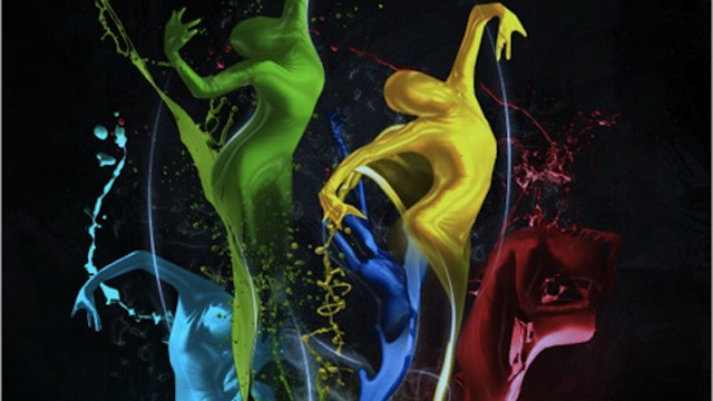 Making of the Imaginary Paint Dancers in Adobe Photoshop