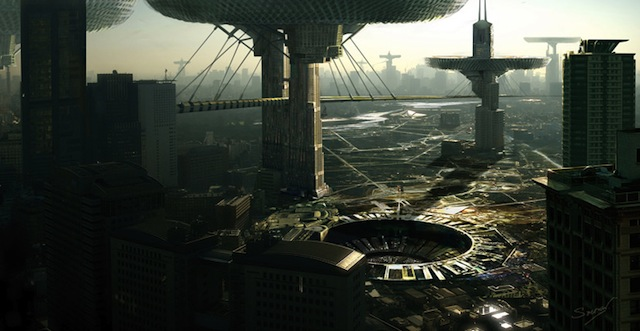 Making of the Futuristic City
