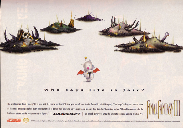Final Fantasy III original release