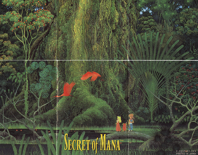 Secret of Mana Gaming artwork