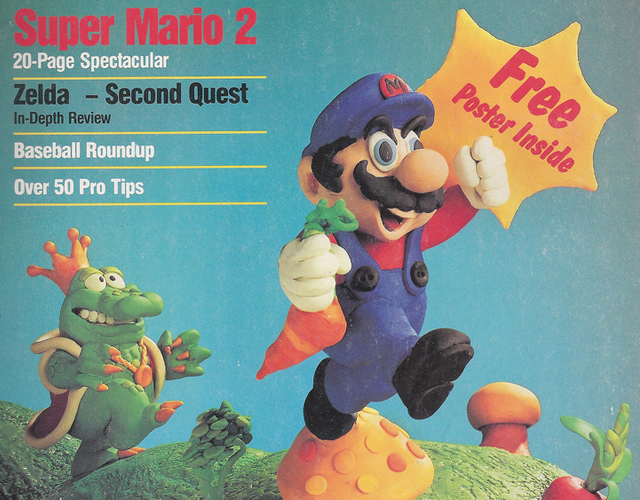Mario Bros. Nintendo Power Mag