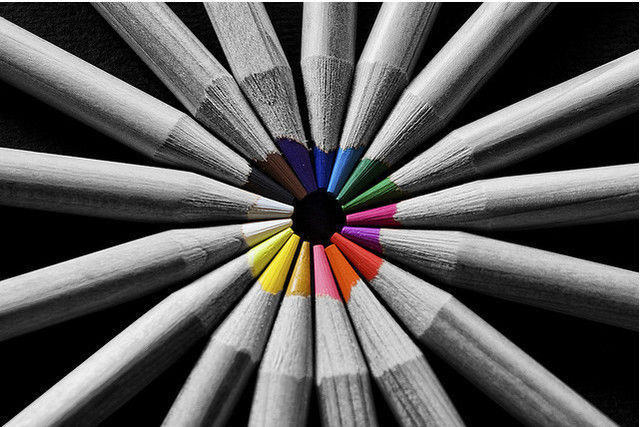 Colors in B&W!