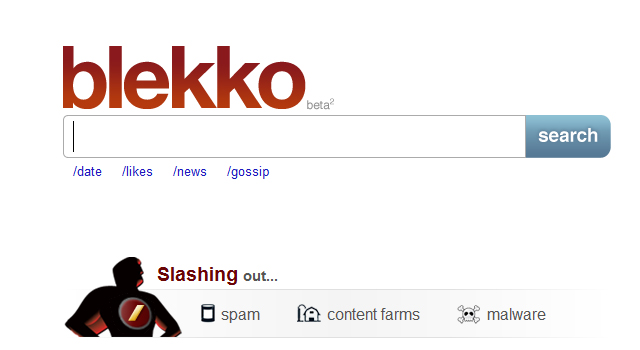 featured image - Blekko spam-free search