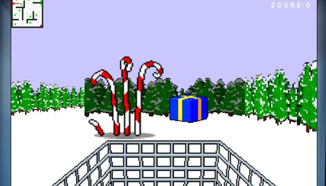 Canvas Demo - Super Santa Sweep 3D html5