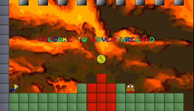 Canvas Demo - Fred Jones in Adventureland html5