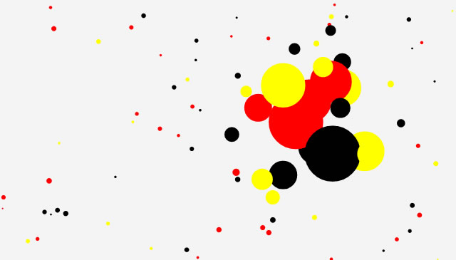 Canvas Demo - Particles html5