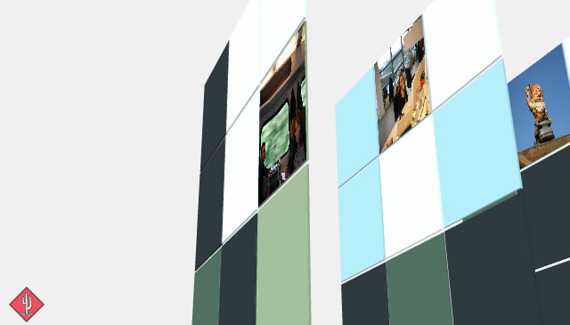Canvas Demo - Canvas in 3D html5