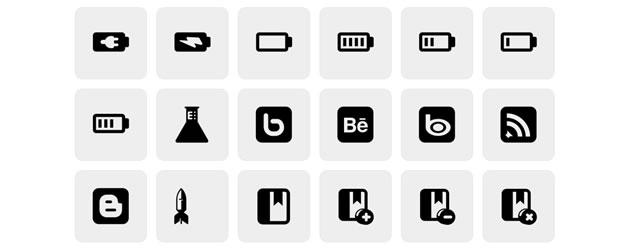 Plastique Icons