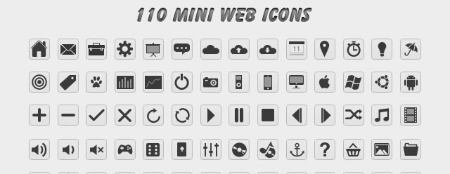 Grapigs Mini Web Icons