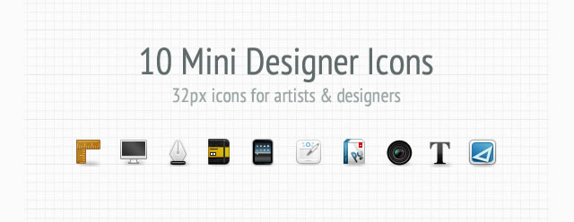 Mini Designer Icon Set