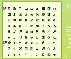 Pixim Icon Set